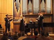 Concert of Boris Kuschnir's students featuring Julian Rachlin, Nikolaj Znaider and Lidia Baich