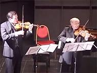 Nikolaj Znaider, Boris Kuschnir and Gérard Caussé